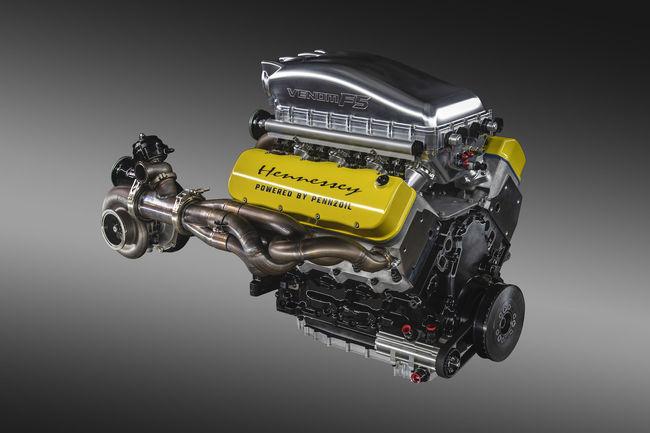 Hennessey présente le V8 « Fury » de la Venom F5
