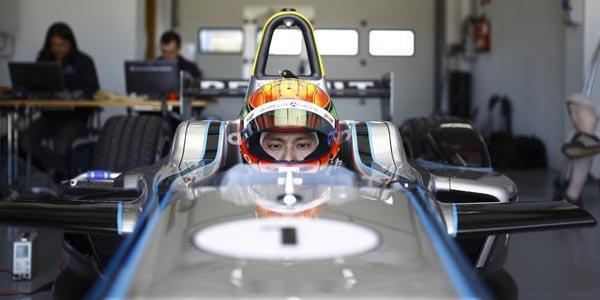 Le Chinois Ho-Pin Tung teste la Formula E