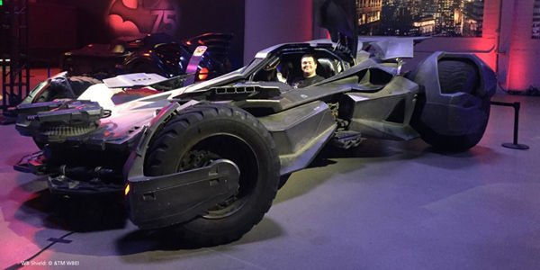 Les Batmobiles du Warner Bros. Studio Tour Hollywood