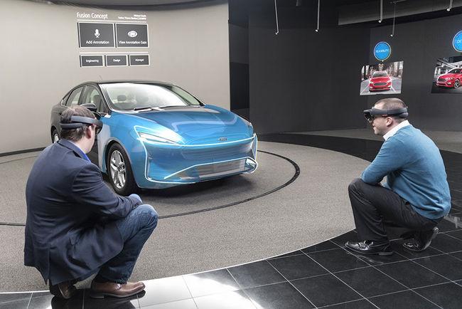 Ford utilise HoloLens pour concevoir ses voitures