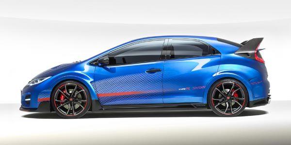 La nouvelle Honda Civic Type R présentée à Paris