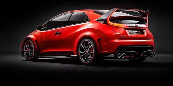 Un microsite pour la nouvelle Honda Civic Type R