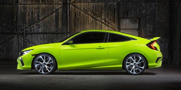 Honda dévoile le concept de sa future Civic