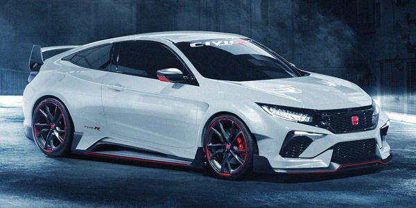 Concept Honda Civic Type R par Wild-Speed