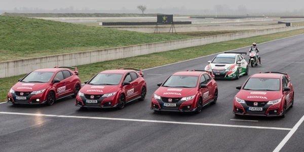 Honda Racing met la gomme à 360 degrés