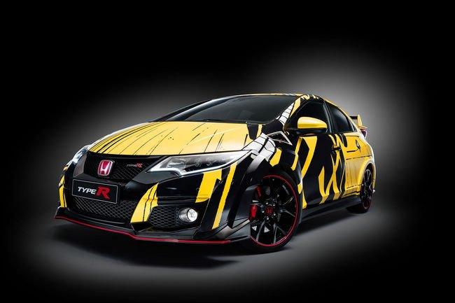 Une Honda Art Car Jean Graton exposée au Mans