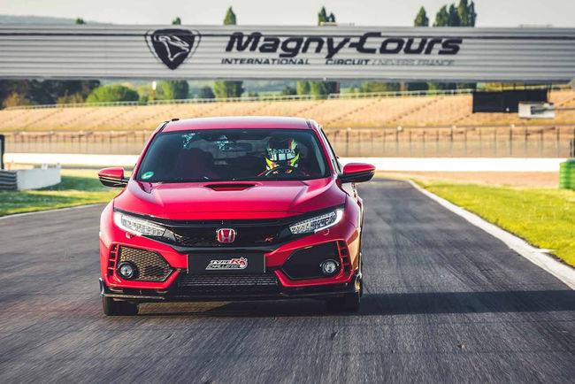Tour record pour la Honda Civic Type R à Magny-Cours