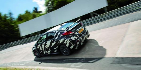 La nouvelle Honda Civic Type R en essai