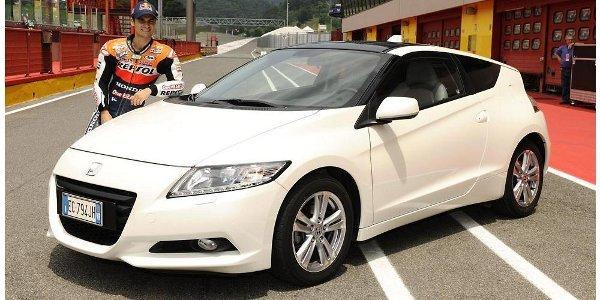 Le Honda CR-Z se fait de la pub