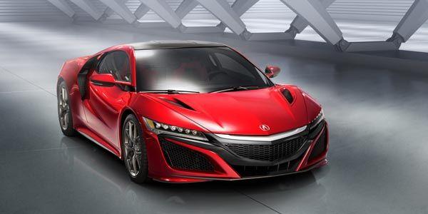 550 ch pour la nouvelle Honda NSX