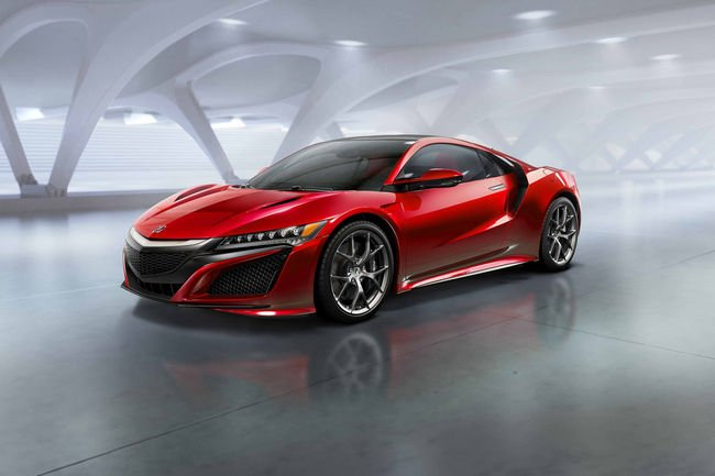 Nouvelle Honda NSX : ouverture des commandes