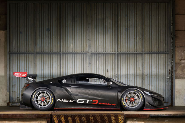 Honda débarque en GT3 avec la NSX