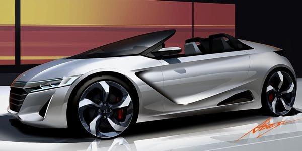 Honda présente son concept S660 à Tokyo