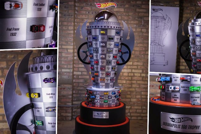 Hot Wheels fête la 100ème édition d'Indy 500