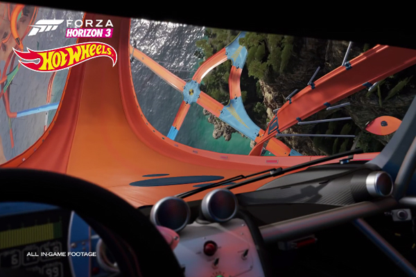 Hot Wheels arrive dans Forza Horizon 3