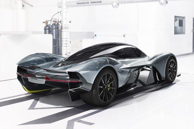 Nouvelle Hypercar Aston Martin AM-RB 001