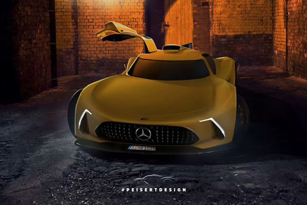 Mercedes-AMG Project One : comme ça ?
