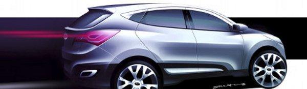Le SUV Hyundai HED-6 à Genève