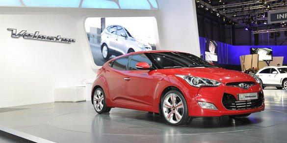 La Hyundai Veloster arrive en mai 2011