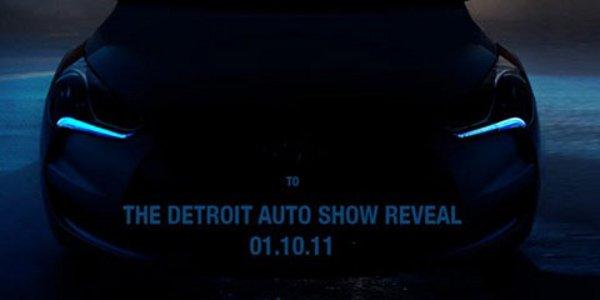 Hyundai Veloster, teasing