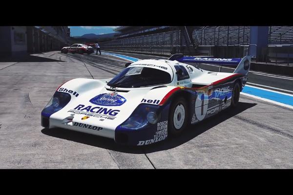 Jacky Ickx retrouve les Porsche 936 et 956 à Fuji