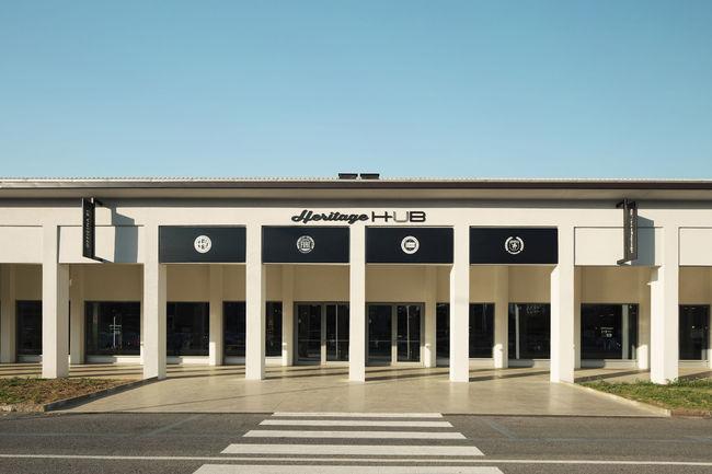 Inauguration du FCA Heritage HUB à Turin