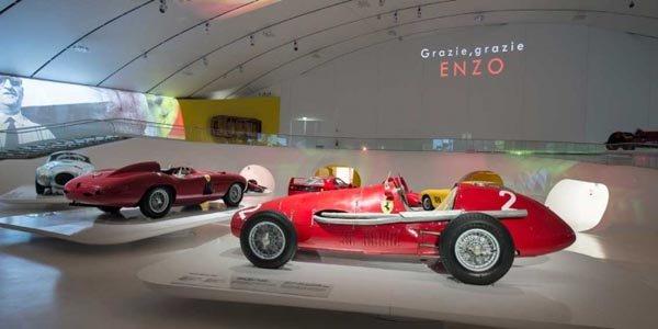 Le Musée Enzo Ferrari inauguré à Modène