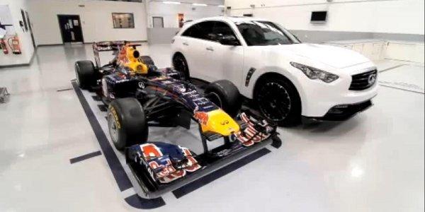 Infiniti FX Sebastian Vettel, la genèse