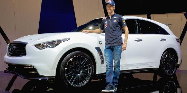 Infiniti FX Vettel, production confirmée