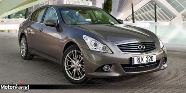 Infiniti G37 berline facelift