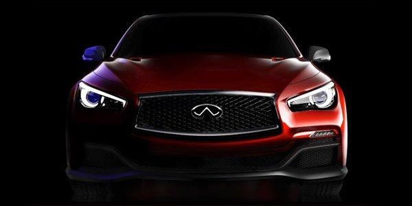 Infini...tease : Q50 Eau Rouge Concept