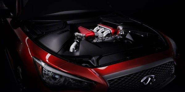 L'Infiniti Q50 Eau Rouge en série ?