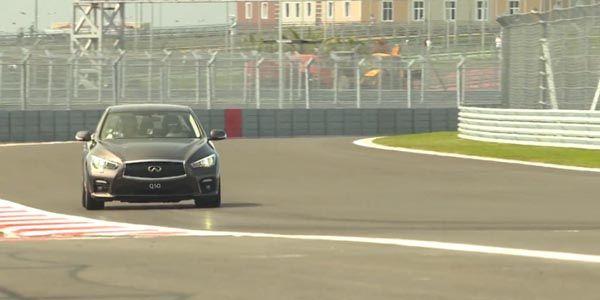 Vettel en piste sur le circuit de Sotchi