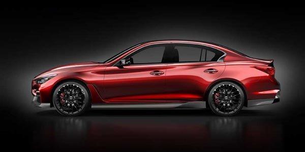 Infiniti Q50 Eau Rouge concept en images