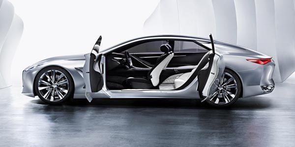 550ch pour le Concept Infiniti Q80 Inspiration