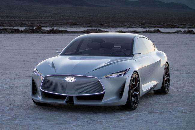 Infiniti offre un aperçu de son concept de SUV électrique