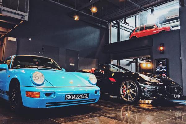 Singapour abrite un distributeur de Supercars