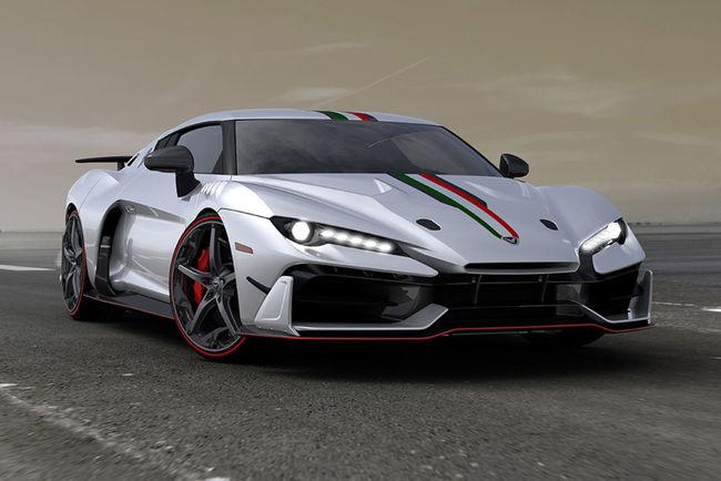 L'Italdesign Zerouno Roadster attendue à Genève
