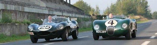 Jaguar commémore ses victoires à Reims
