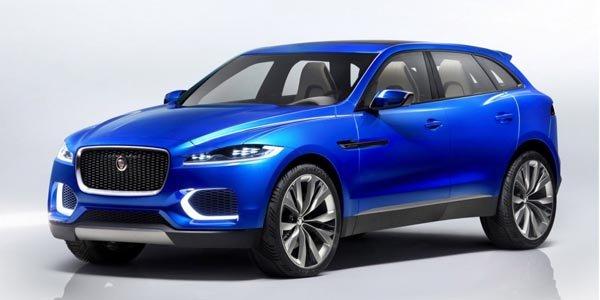 Jaguar dévoile son SUV C-X17 Concept