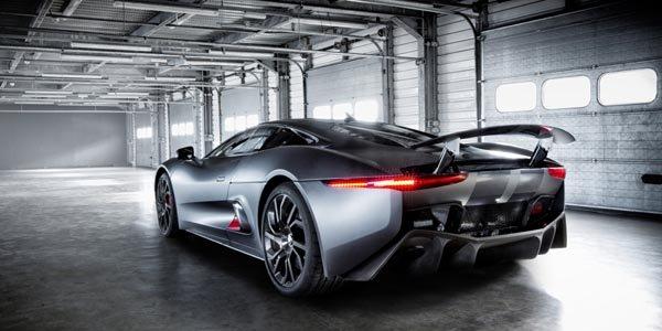 Jaguar présente son prototype C-X75
