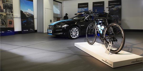 Jaguar développe un vélo pour le Team Sky