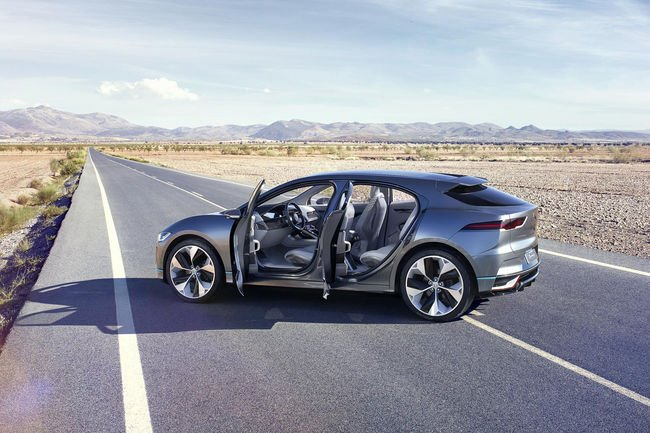Jaguar I-Pace : concept électrique à Los Angeles
