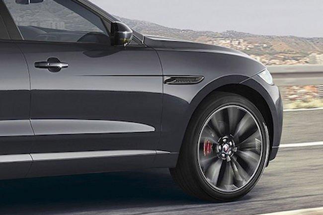 Un Jaguar F-Pace spécial vendu aux enchères