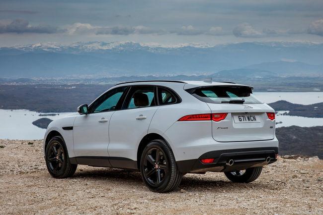 Le Jaguar F-Pace élu voiture de l'année