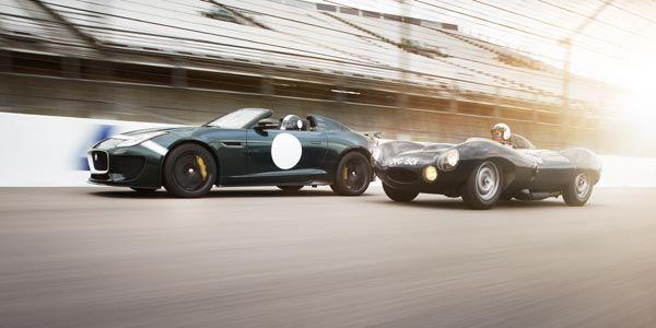 La Jaguar F-Type Project 7 au Mans Classic