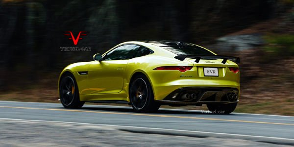 La Jaguar F-Type SVR imaginée par virtuel-car