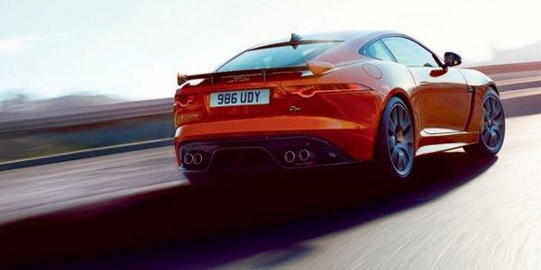 Jaguar F-Type SVR : en fuite sur le net
