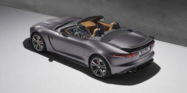 Jaguar F-Type SVR : des images et du son