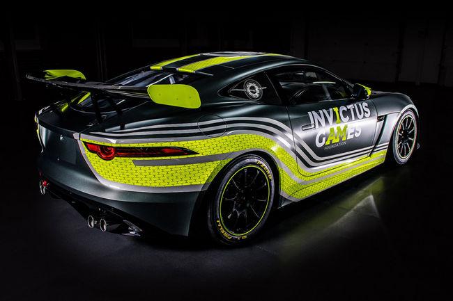 British GT : Jaguar dans la course avec une F-Type GT4